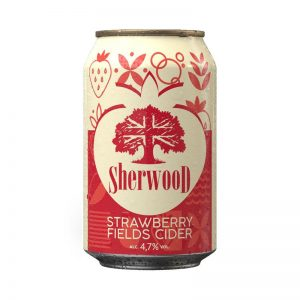 Sherwood Strawberry Fields Cider